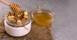 Griechischer Joghurt mit Nüssen und Honig