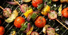 Griechische Gemüse Spieße Rezept
